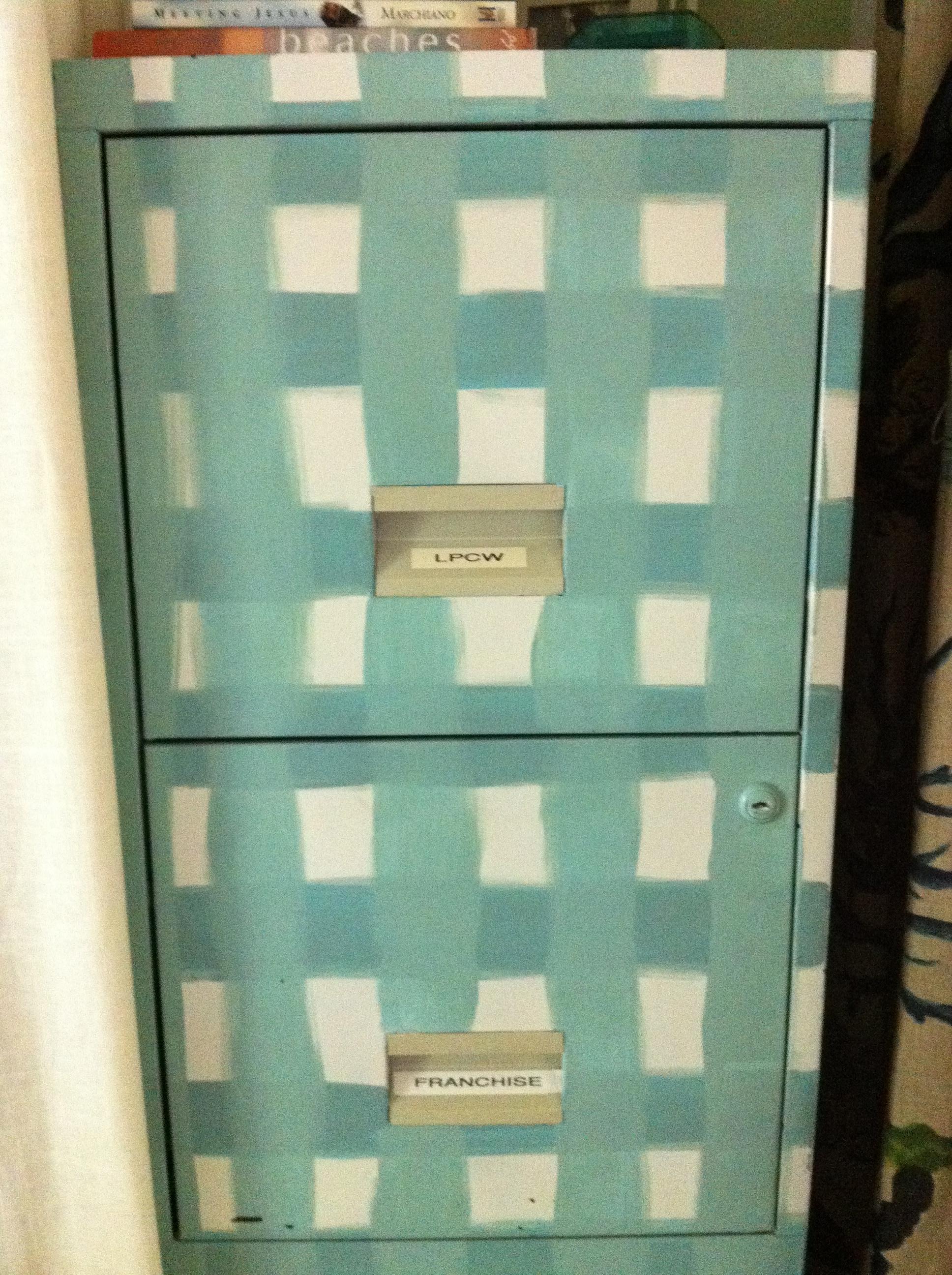 file cabinet makeover cottage in the oaks. Black Bedroom Furniture Sets. Home Design Ideas