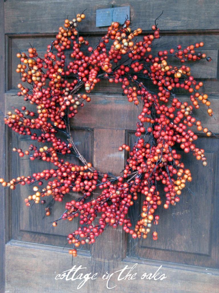 Autumn Door Decor Cottage In The Oaks