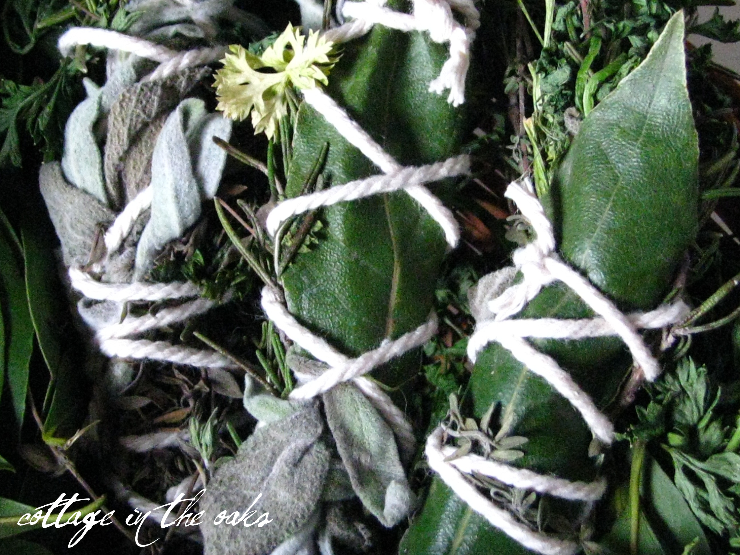 How To Make Your Own Bouquet Garni Cottage In The Oaks
