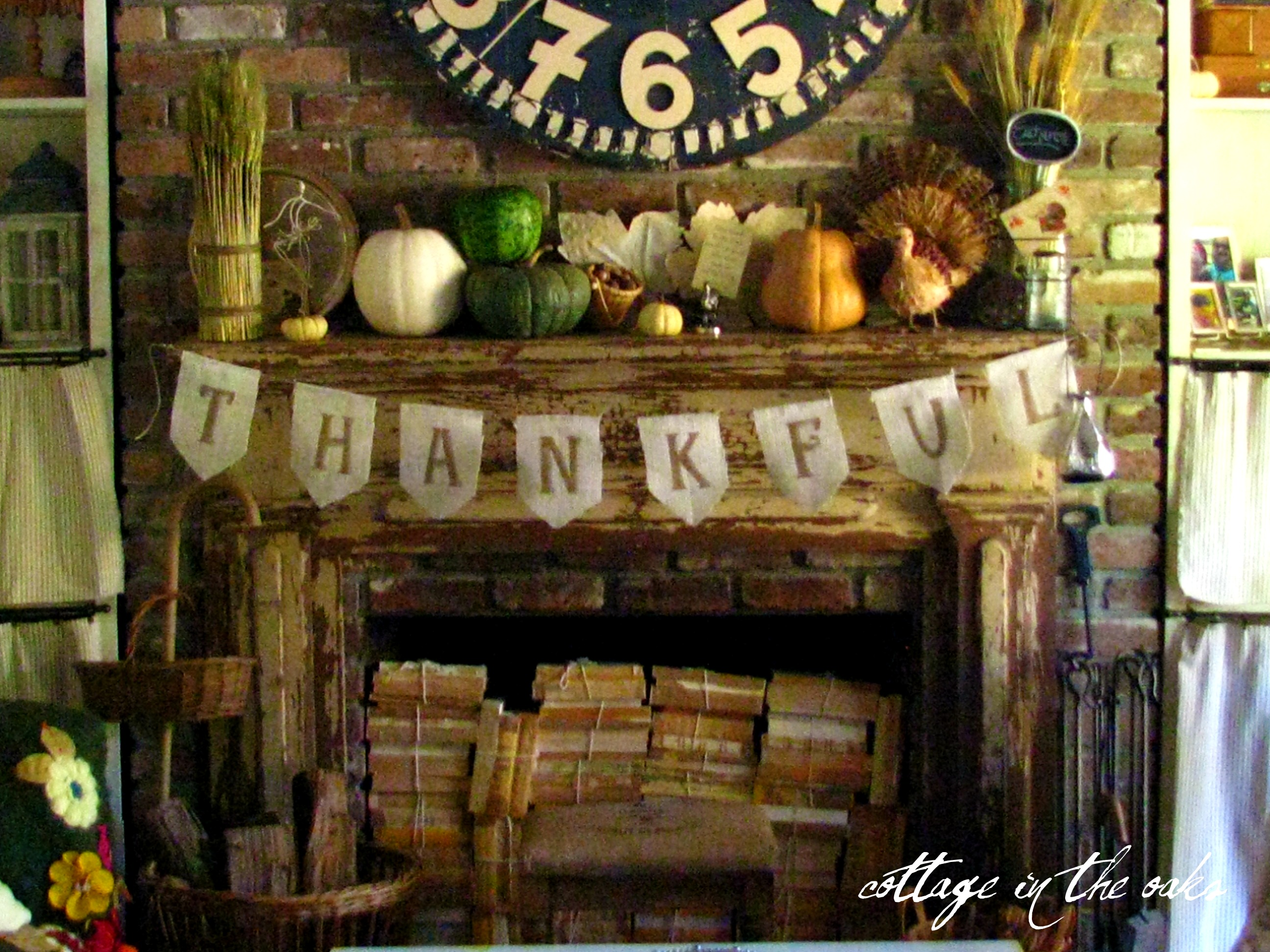 Thanksgiving – Thanksgiving Mantel Decorations