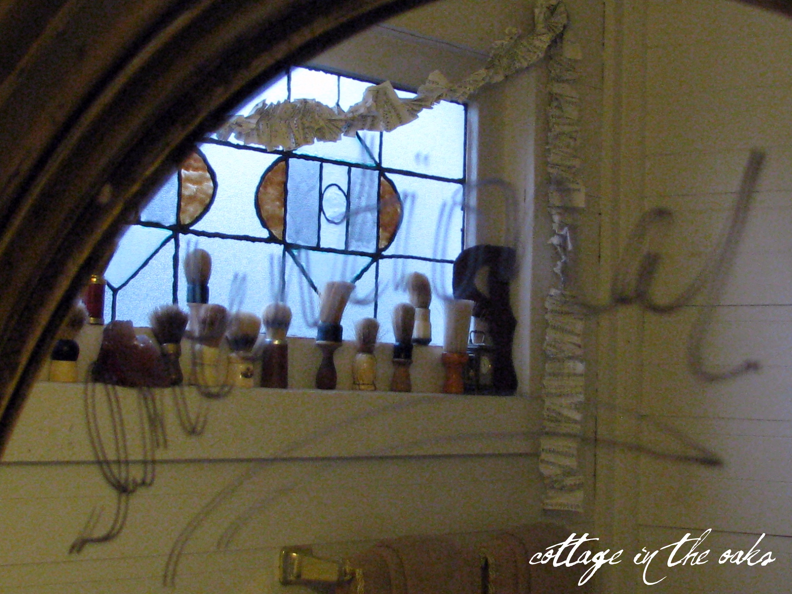 Bathroom Mirror Love Notes love notes on the bathroom mirror.. - cottage in the oaks