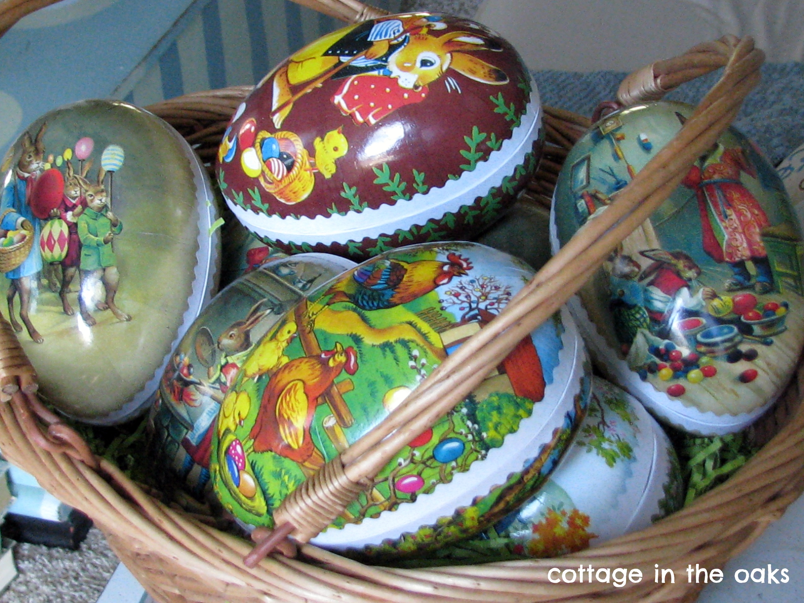 Vintage German Easter Egg Treats Cottage In The Oaks