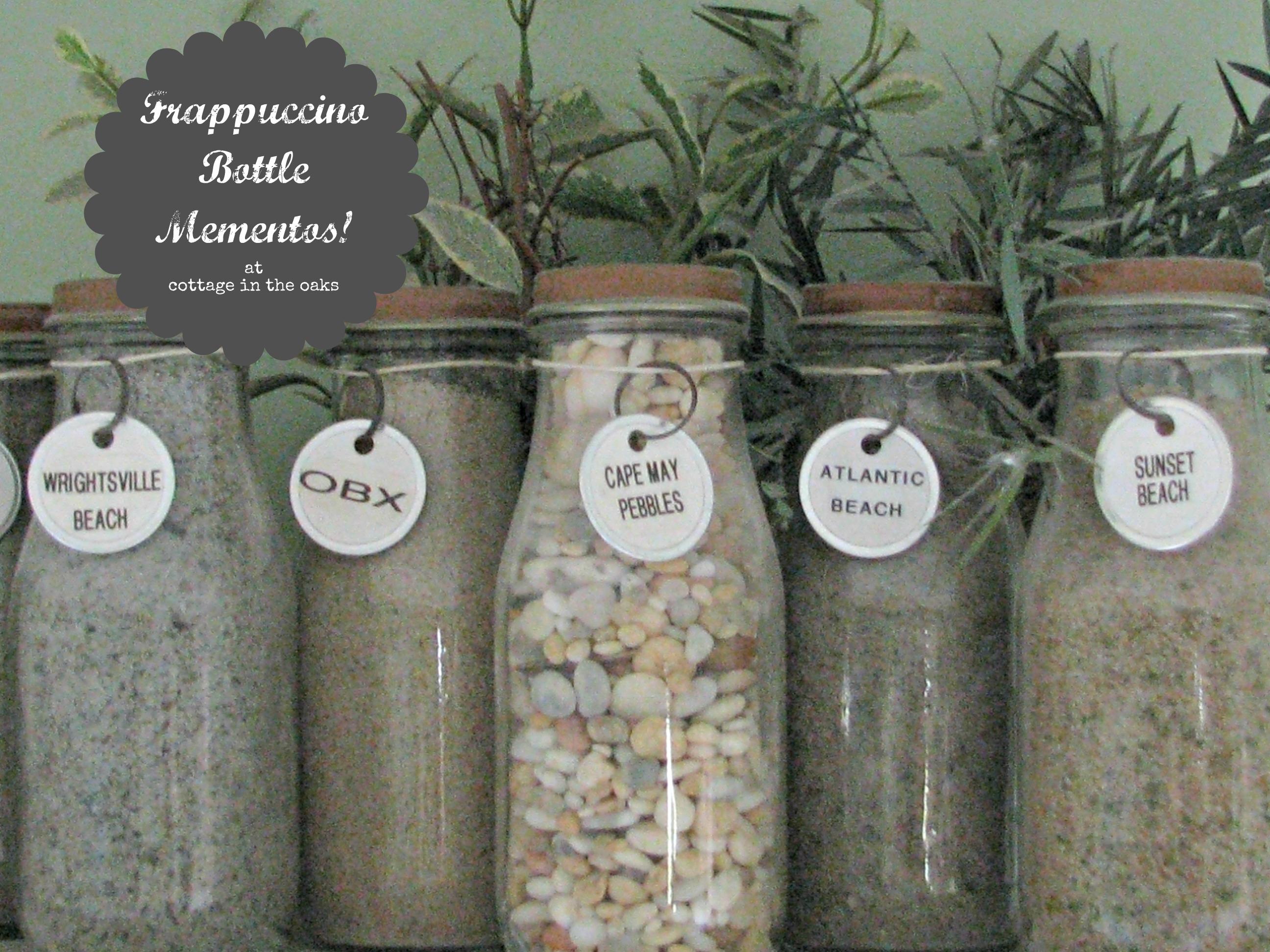 http://cottageintheoaks.files.wordpress.com/2012/05/frappuccino-bottle-mementos.jpg