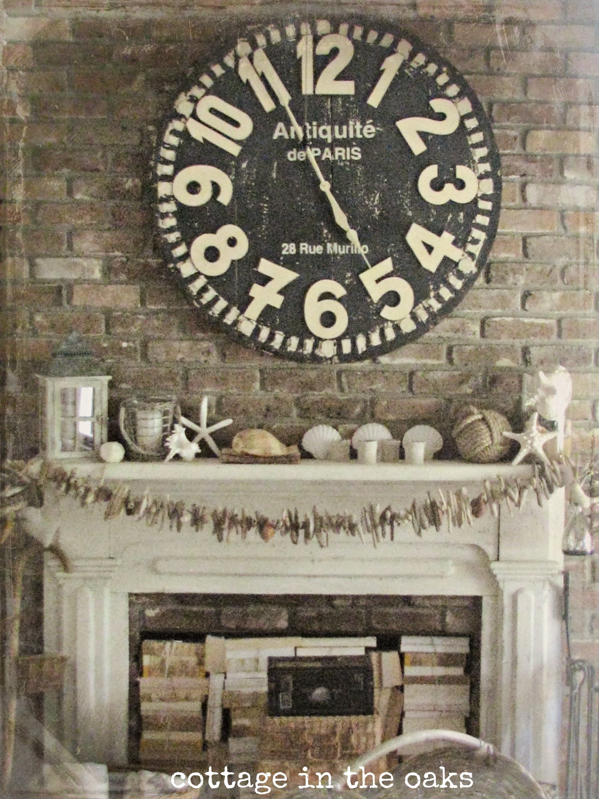Summer Mantel {2012} - Cottage in the Oaks