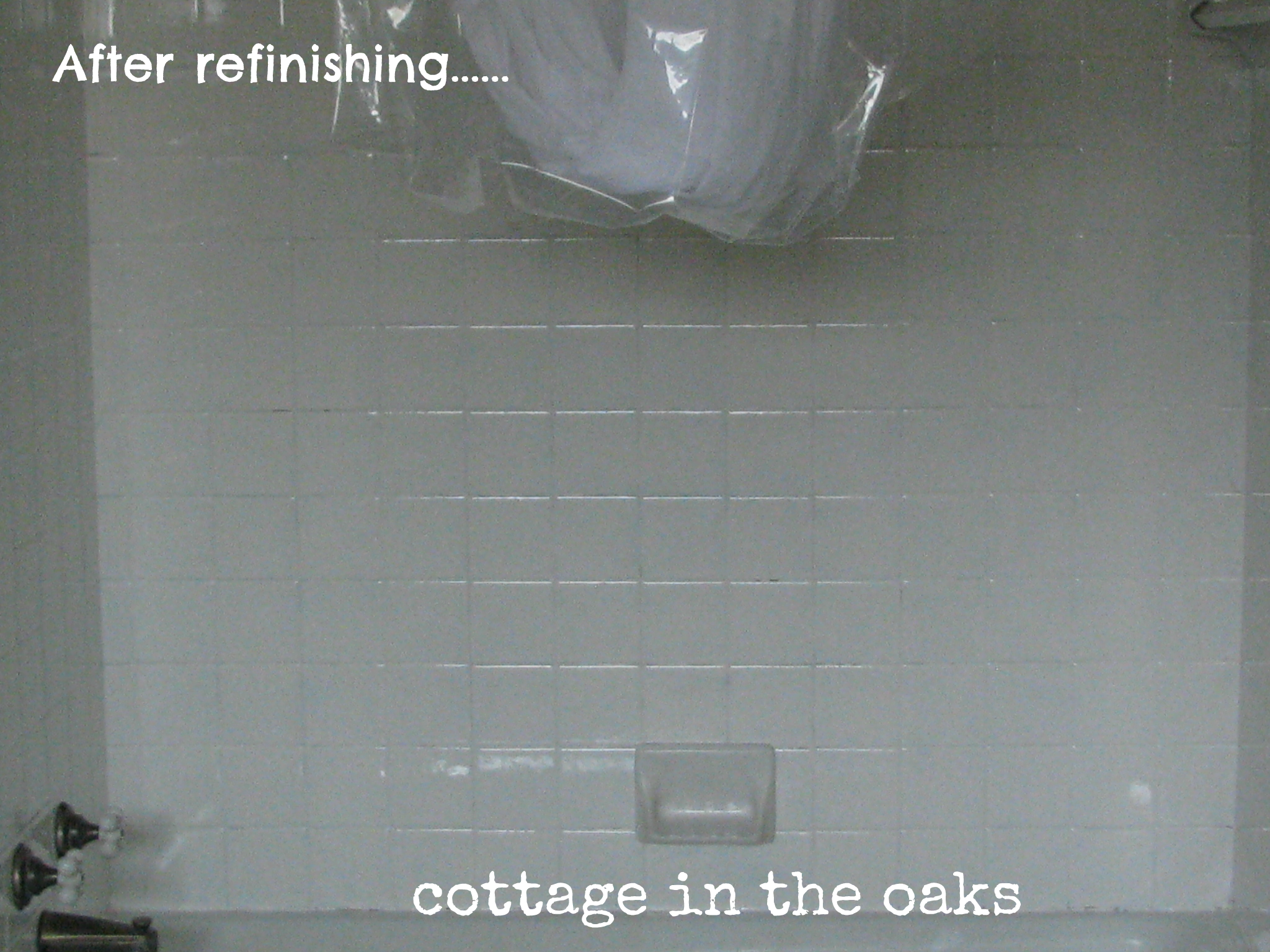 Refinishing Tile: Our Miracle Method {Cottage Bath Makeover ...