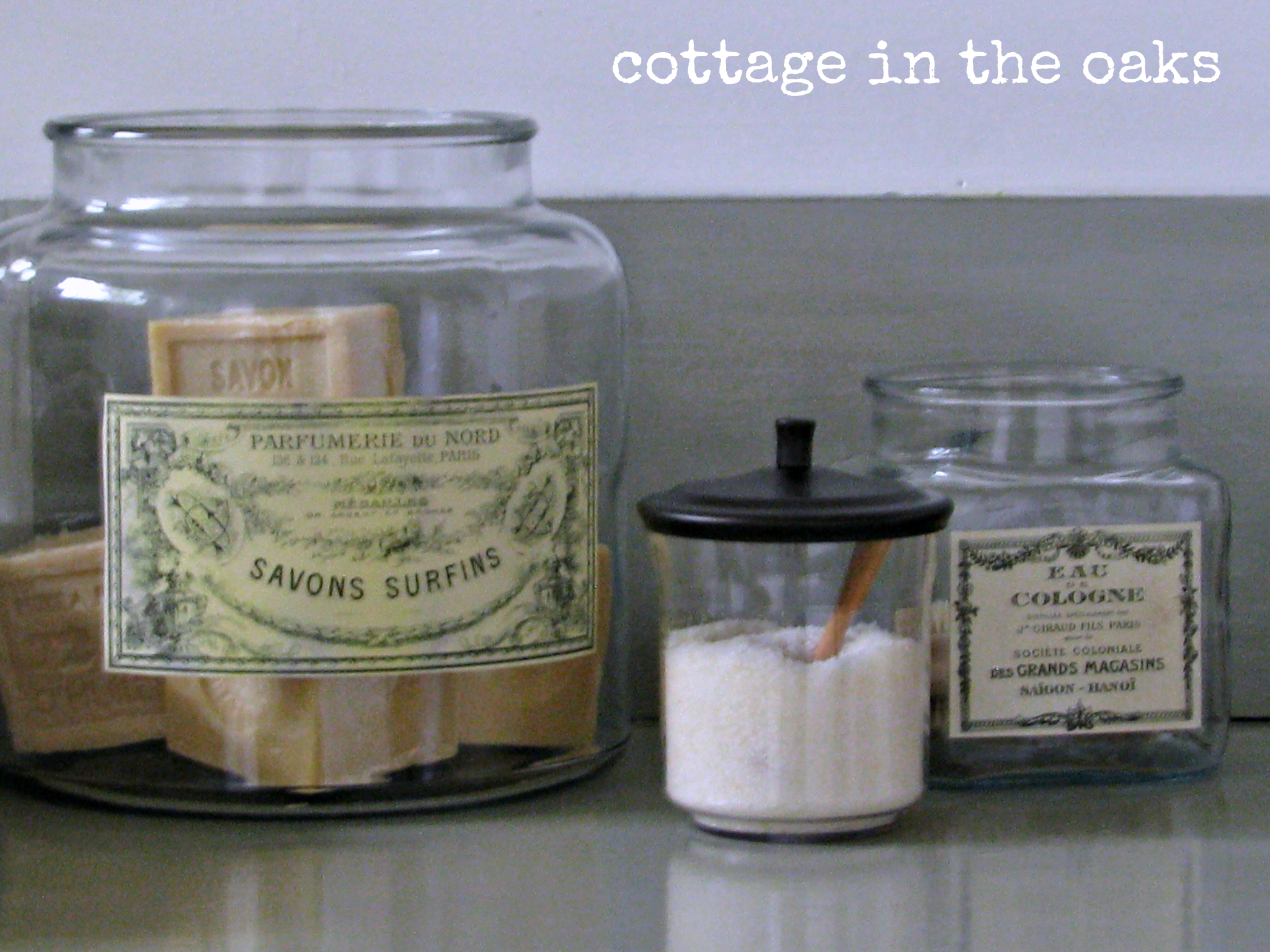Bathroom Apothecary Jars : Apothecary jar