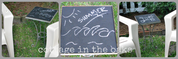 chalkboard diy