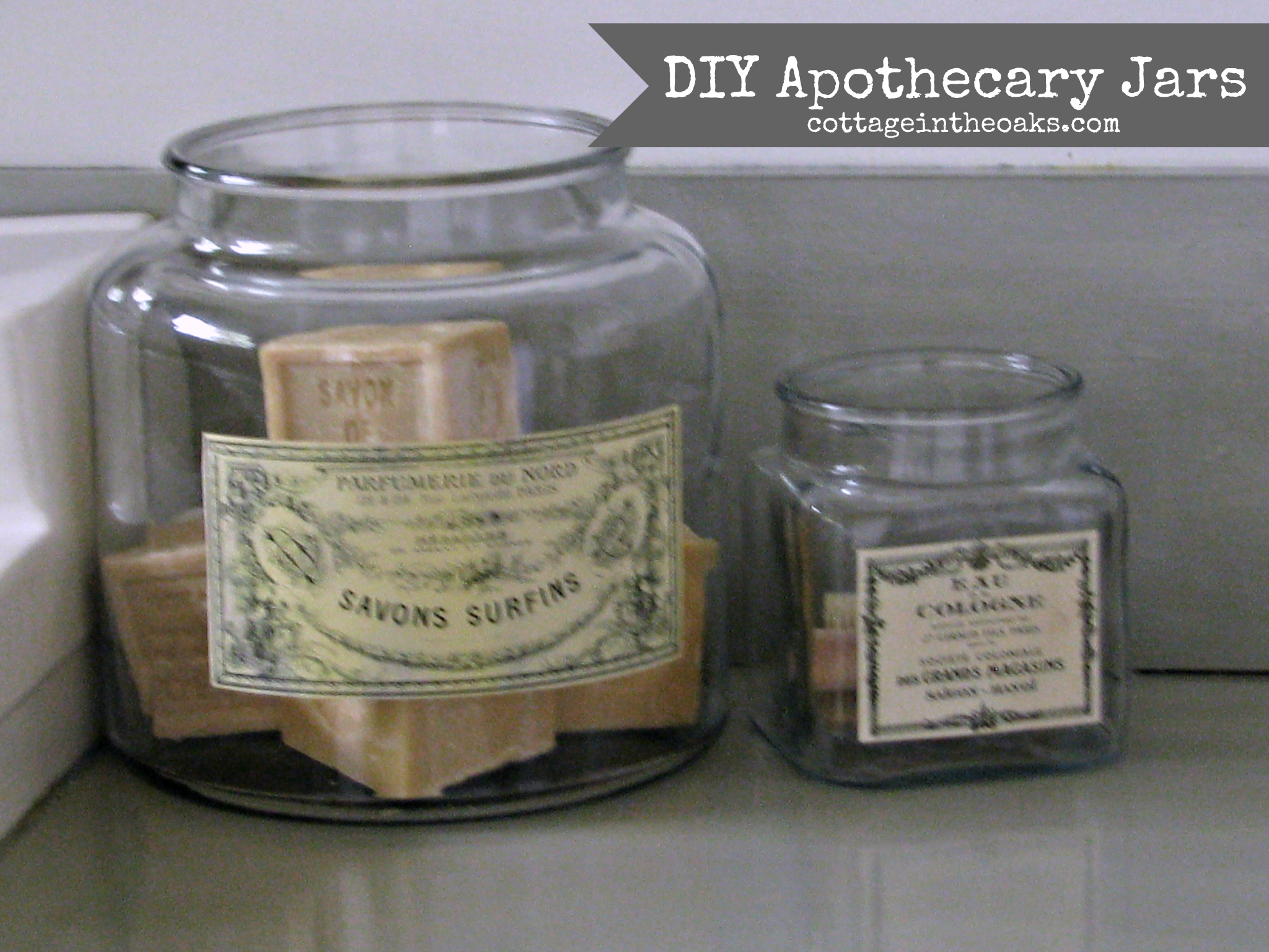 photograph regarding Free Printable Apothecary Jar Labels identified as Do-it-yourself Common Apothecary Jars