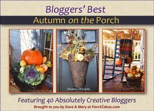 autumn front porches