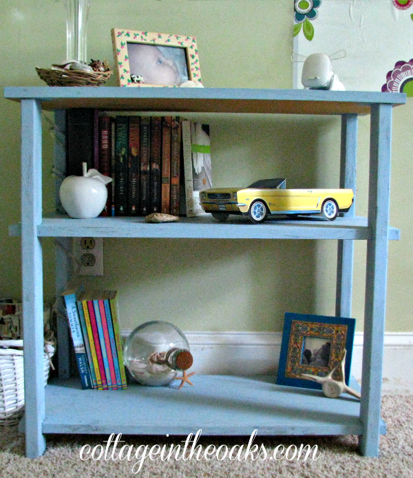louis blue shelves
