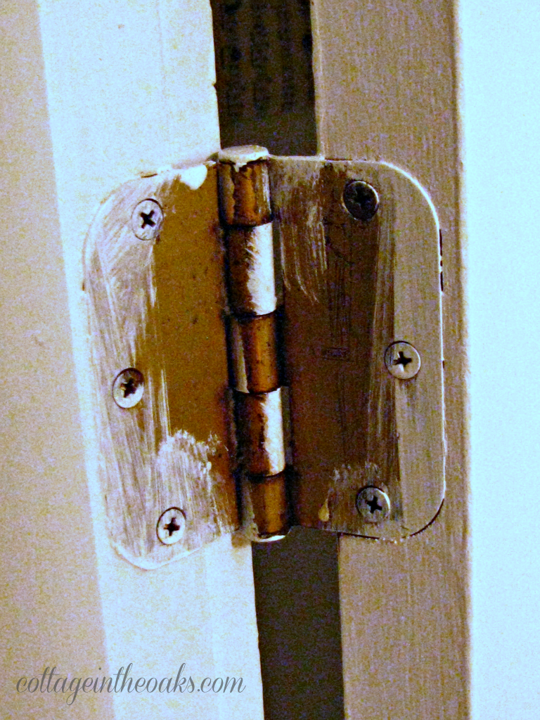 how to remove door hinges & How to Remove Door Hinges..... - Cottage in the Oaks pezcame.com