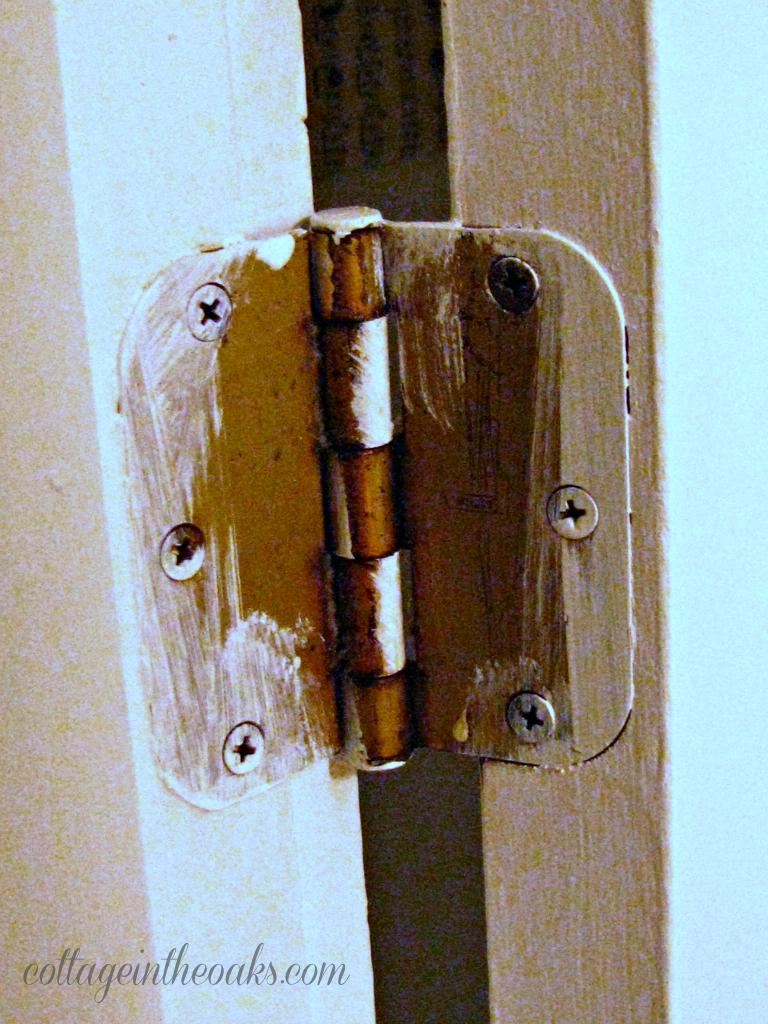 How To Remove Door Hinges Cottage In The Oaks - Bathroom door hinges
