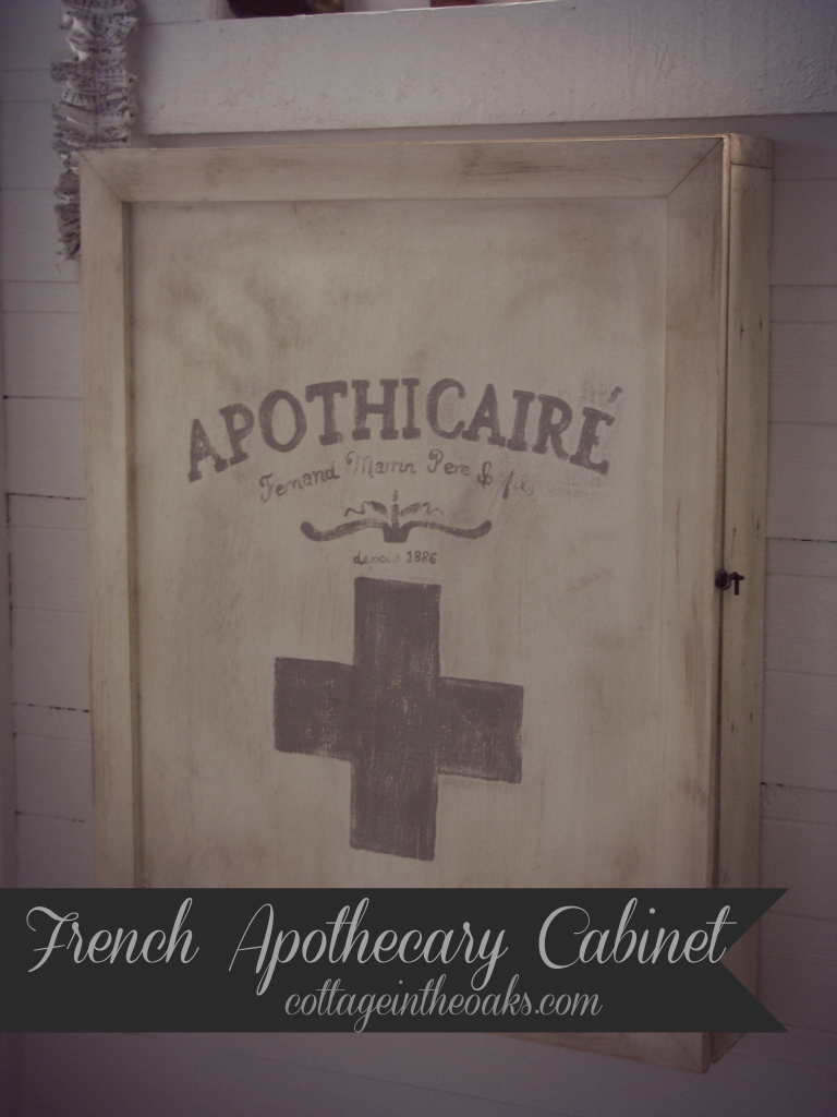 French Apothecary Cabinet ::: Pharmacy Cabinet |