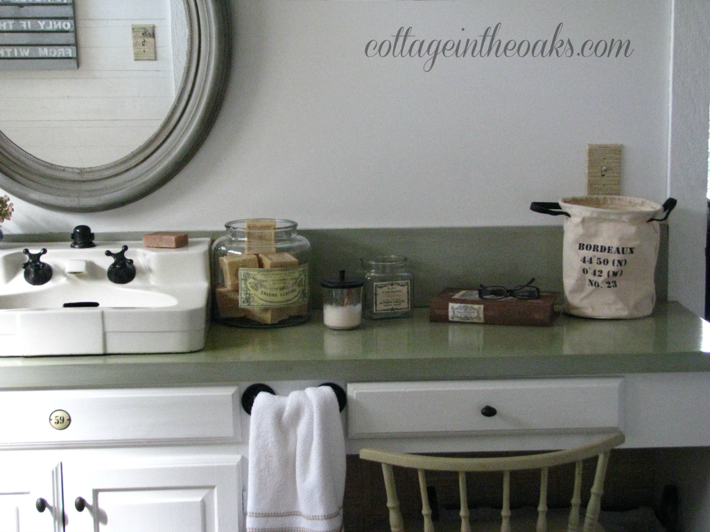 Cottage bathrooms - Pharmacy Cabinet