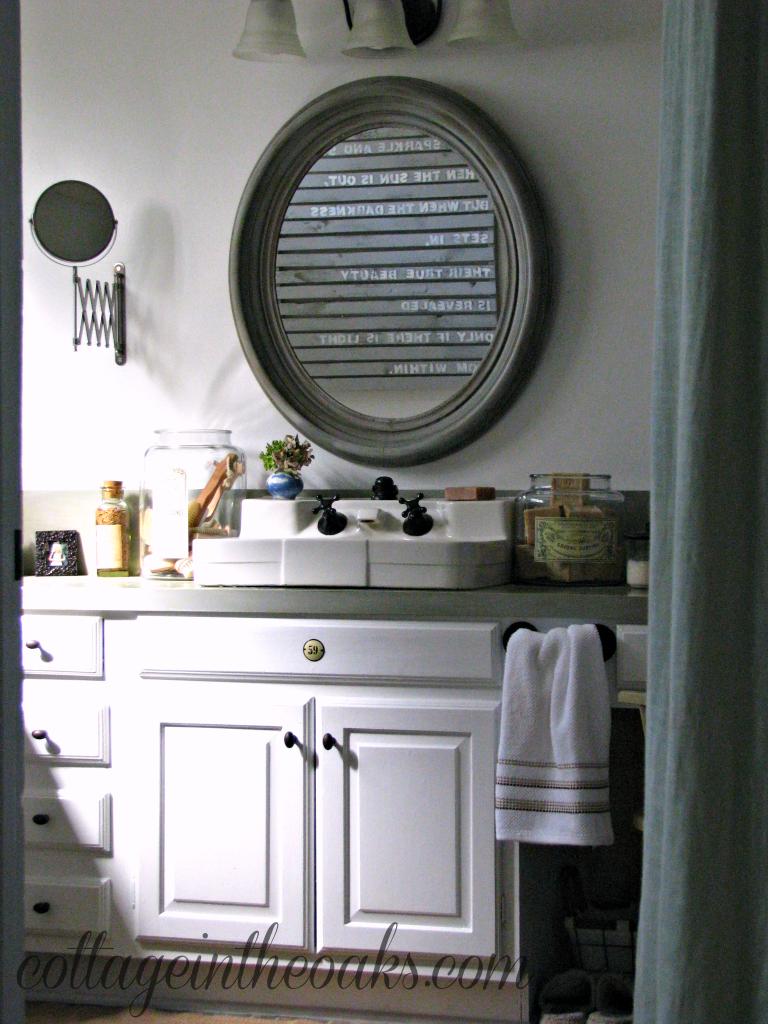 Cottage Bathroom Update Cottage In The Oaks