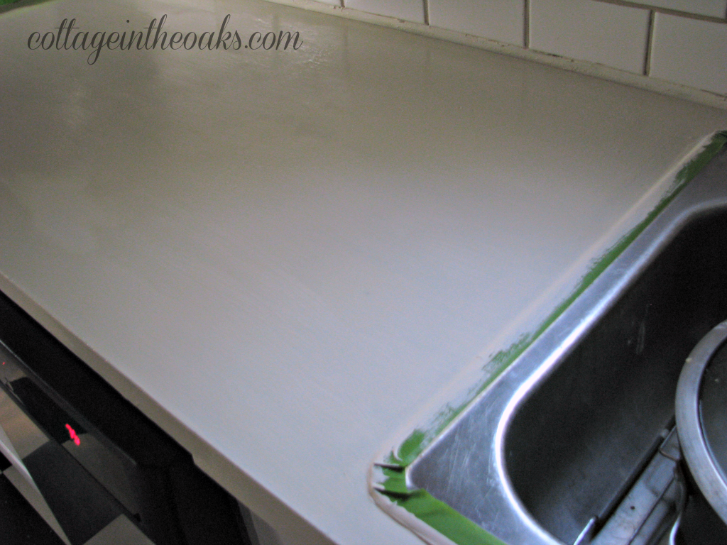 Diy Carrera Marble Painted Kitchen Counters Cottage In