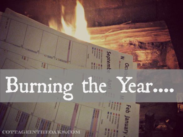 burning the year
