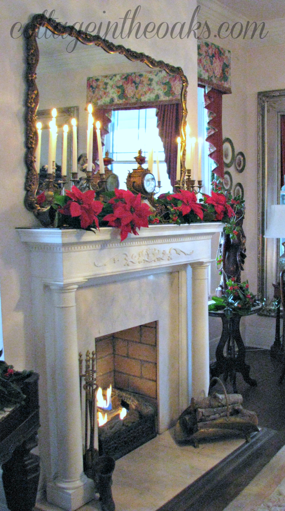 fireplace in historical home