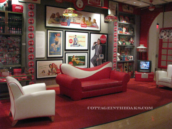 American Idol Sofa at World of Coke