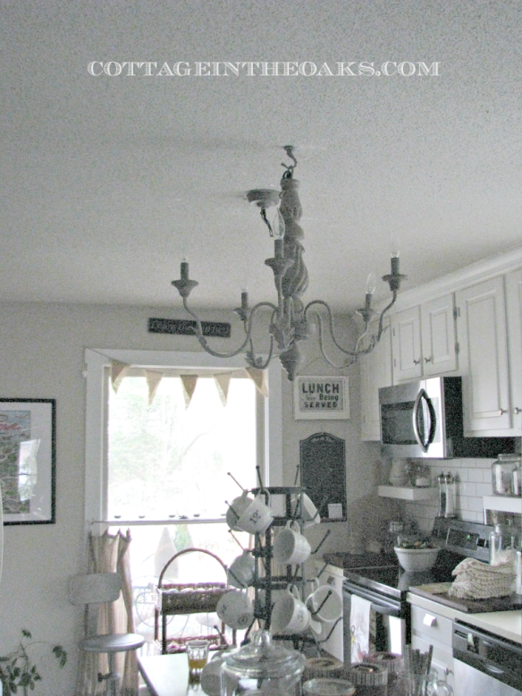 cottage kitchen chandelier