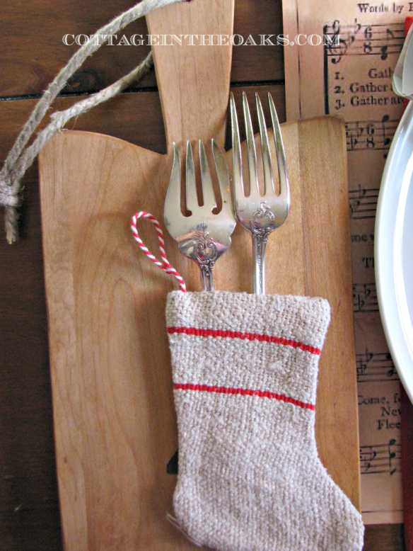 Flipped Silverware and Flatware