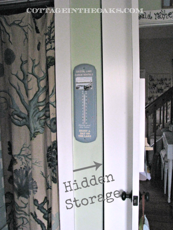 Hidden Door Storage