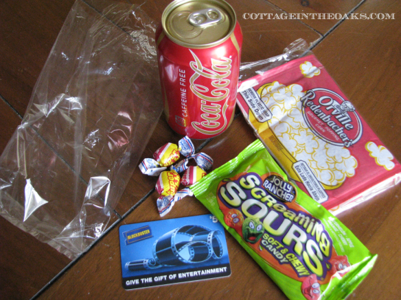 Movie Madness Bag items